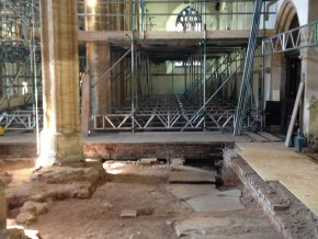 St Mary's Church, Bridgwater - Conservation Work (7 photos)